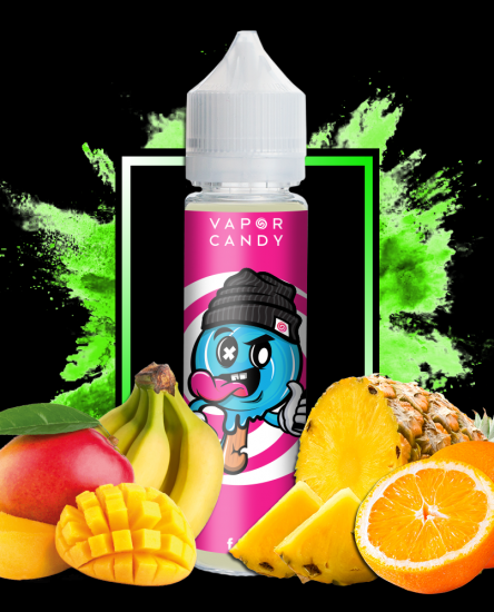 knockout tropical fruit menthol vape