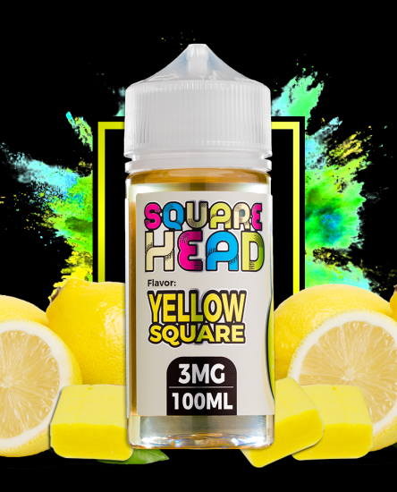 vapor candy yellow square head