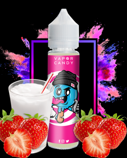 pink milk strawberry milk vape